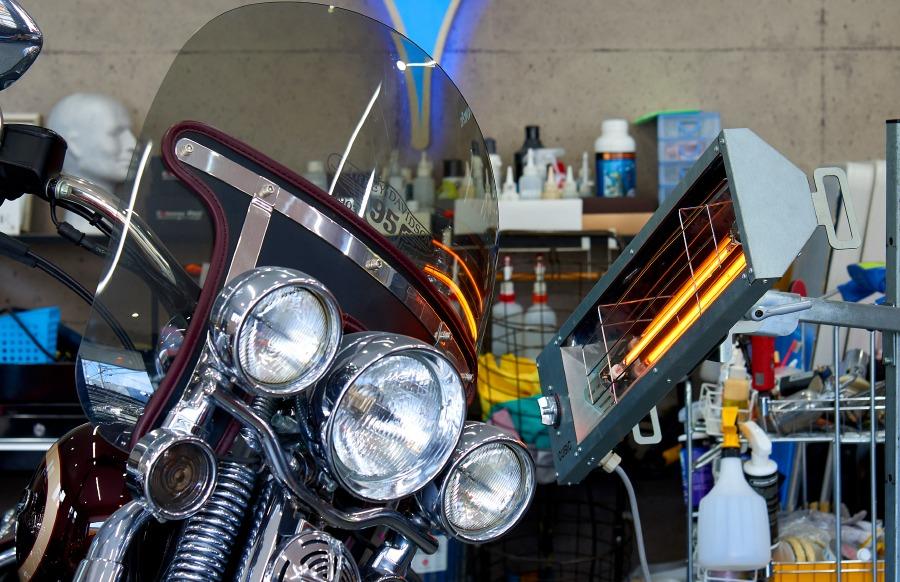 バイクコーティング,大阪,兵庫